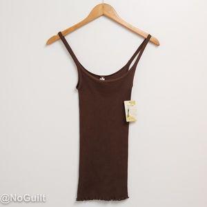 NEW Free People Medium Brown Camisole